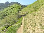 Sentiero San Lucio - Bocchetta di San Bernardo