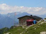 Capanna Gana Rossa - Piatto Segna 2217 m