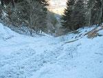 Valanga a Téisa 1411 m