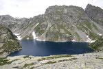 Lago piccolo della Cròsa 2116 m