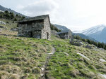 Alpe e capanna di Prou 2015 m
