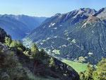 La Val Mesolcina dall'Alp de Balnisc