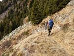 Sul sentiero Alp de Martum - Capanna Brogoldone