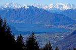 Verso il Gridone e le Alpi Vallesane