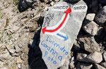 Segnaletica al Passo di Lucendro