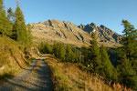 Sulla strada per l'Alp di Stabveder