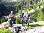 Ilario, Chico e io al Lago di Sascòla