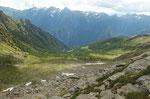Alp de Bec dalla cresta .....