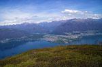 Panoramica dal Monte Paglione 1554 m