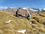 Flavio e io alla Bocchetta di Larciolo 2340 m