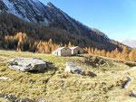 Alp de Quarnei 1753 m (Valle della Forcola / Soazza) (GR)