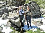 Ilario e io all'Alp di Agnon 1905 m