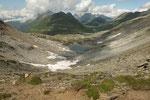 Dal Passo Bornengo verso la Val Maighels