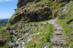 Sentiero per il Monte Generoso