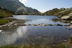 Lago senza nome a 2275 m