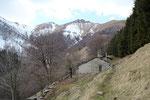 Alpe Squadrina con il Monte Generoso e Baraghetto
