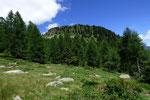 Motta de Carnac dal sentiero per l'Alp de Palazi