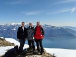 Con l'amico Daniele all'Alpe di Naccio