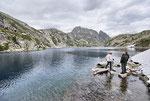Lago grande della Cròsa