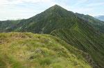 Monte Zeda e la Cresta di collegamento con La Piota
