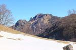 Dall'Alpe Bolla verso i Denti della Vecchia