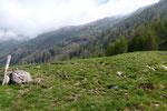 Proseguiamo per l'Alpe di Gagern
