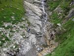 Discesa nella Val di Passit