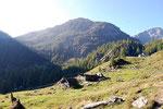 Alpe di Sfii 1666 m - Valle di Campo