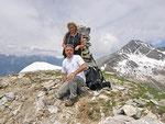 Daria e io sul Piz de Molinera 2288 m