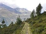 Sentiero per Alpe di Cristallina