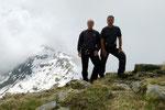 Sulla cima senza nome a 2175 m