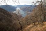 Dal sentiero per l'Alpe di Pugerna