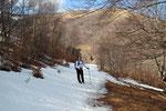 Sul sentiero per l'Alpe Orimento