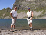 Io e Chico al Lago di Canee