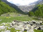 Capanna Osola 1418 m (Valle d'Osura)