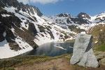 Lai da Tuma 2343 m sorgente del Reno Anteriore