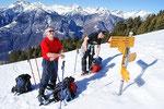 Adri e Chico all'Alpe Domas 1666 m