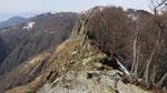 La cresta della Cima di Morissolo