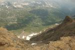 Al centro l'Alpe di Cruina