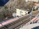 Stazione di partenza della funivia Verdasio - Rasa