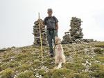 Il padrone con il suo cane