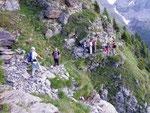 Sul sentiero per l'Alpe Örz