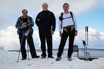 Chico, Luciano e io sul Monte Generoso 1701 m