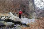 Sentiero nella Valle Cusella