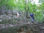 Sentiero per i Monti di Montoi