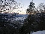 Dai Monti di Ravecchia verso Locarno alle ore 7:30