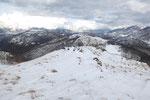 Sulla cima senza nome 1168 m