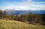 .... dal Monte Sirti 1344 m