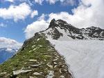 La cresta Piz de Groven - Cima de Nomnom