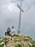 Chico e io sulla Cima di Gambarogno 1687 m